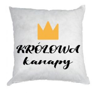 Pillow The queen of the couch - PrintSalon