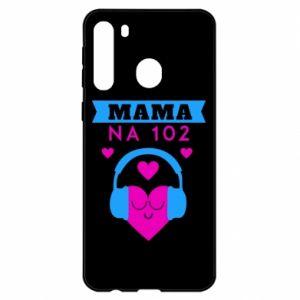Etui na Samsung A21 Mama na 102