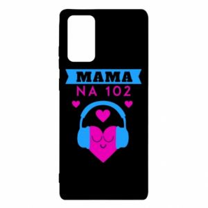 Etui na Samsung Note 20 Mama na 102
