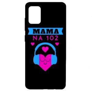 Etui na Samsung A51 Mama na 102