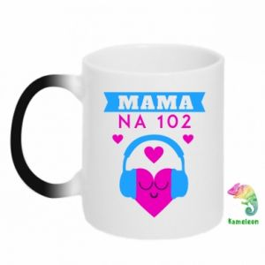 Kubek-kameleon Mama na 102