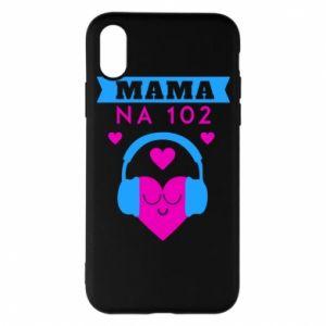 iPhone X/Xs Case Mom on 102
