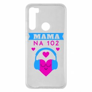 Xiaomi Redmi Note 8 Case Mom on 102