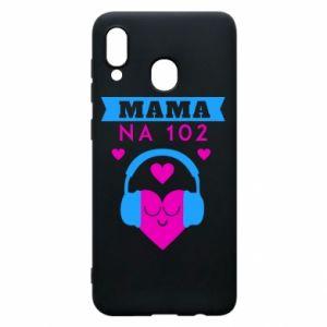 Samsung A20 Case Mom on 102