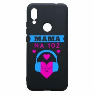 Xiaomi Redmi 7 Case Mom on 102