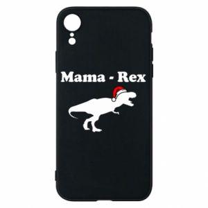 Etui na iPhone XR Mama - rex