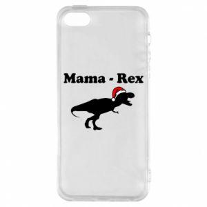 Etui na iPhone 5/5S/SE Mama - rex