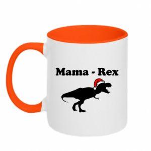 Two-toned mug Mom - rex