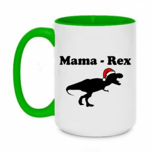 Two-toned mug 450ml Mom - rex