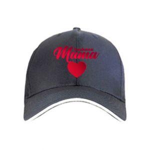 Czapka Mama serce