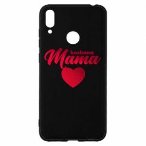 Etui na Huawei Y7 2019 Mama serce