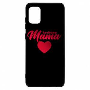 Etui na Samsung A31 Mama serce