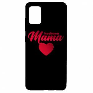 Etui na Samsung A51 Mama serce