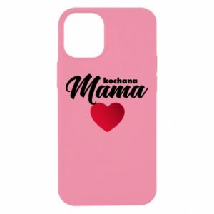 Etui na iPhone 12 Mini Mama serce