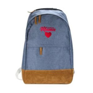 Urban backpack mother heart