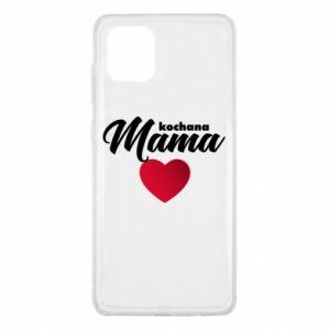 Samsung Note 10 Lite Case mother heart