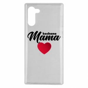 Samsung Note 10 Case mother heart
