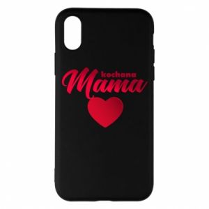 iPhone X/Xs Case mother heart