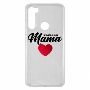 Xiaomi Redmi Note 8 Case mother heart