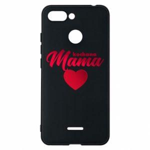 Xiaomi Redmi 6 Case mother heart