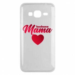 Samsung J3 2016 Case mother heart