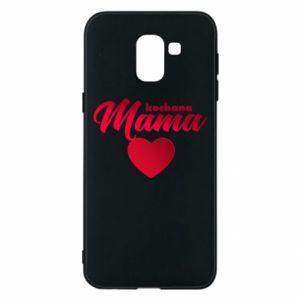 Samsung J6 Case mother heart