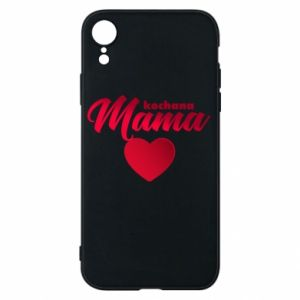 iPhone XR Case mother heart