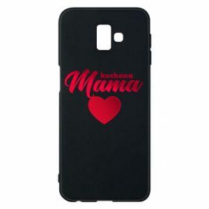 Samsung J6 Plus 2018 Case mother heart