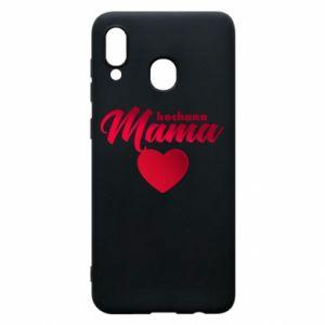 Samsung A20 Case mother heart