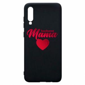 Samsung A70 Case mother heart