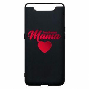 Samsung A80 Case mother heart