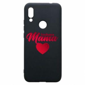 Xiaomi Redmi 7 Case mother heart