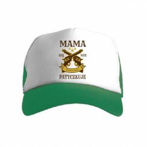 Kid's Trucker Hat Mama się nie patyczkuje