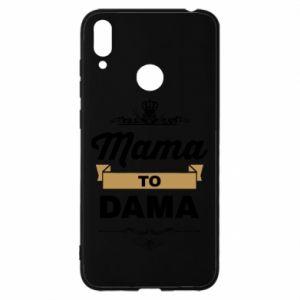 Etui na Huawei Y7 2019 Mama to dama
