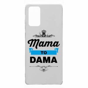 Etui na Samsung Note 20 Mama to dama