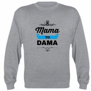 Bluza Mama to dama