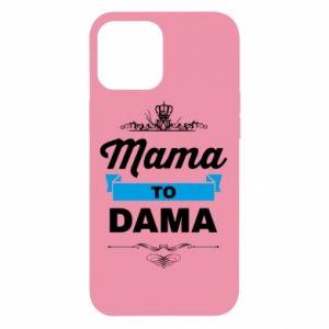 Etui na iPhone 12 Pro Max Mama to dama