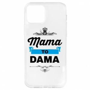 Etui na iPhone 12/12 Pro Mama to dama