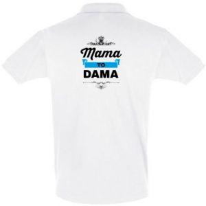 Koszulka Polo Mama to dama