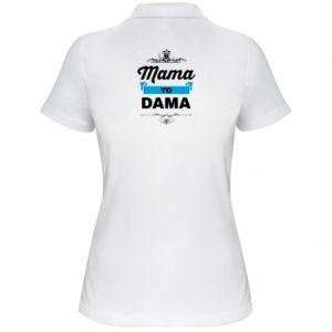 Koszulka polo damska Mama to dama