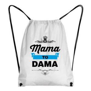 Plecak-worek Mama to dama