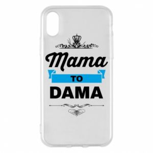 Phone case for iPhone X/Xs Mother to the lady