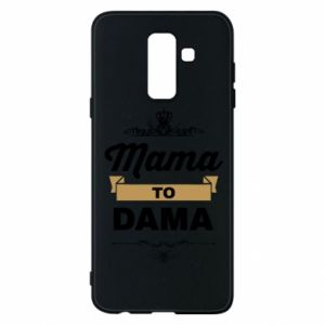 Phone case for Samsung A6+ 2018 Mother to the lady