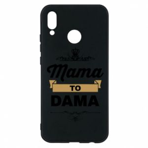 Phone case for Huawei P20 Lite Mother to the lady
