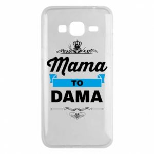 Phone case for Samsung J3 2016 Mother to the lady