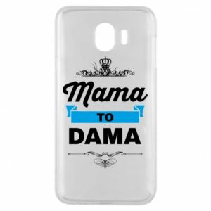 Phone case for Samsung J4 Mother to the lady
