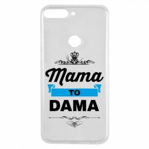 Phone case for Huawei Y7 Prime 2018 Mother to the lady