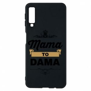 Phone case for Samsung A7 2018 Mother to the lady