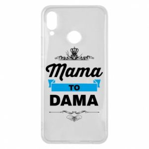 Phone case for Huawei P Smart Plus Mother to the lady