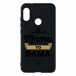 Phone case for Mi A2 Lite Mother to the lady